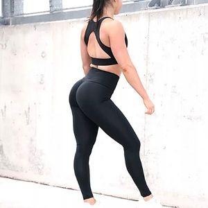 Woman Ruched push up Leggings Yoga Pants Running